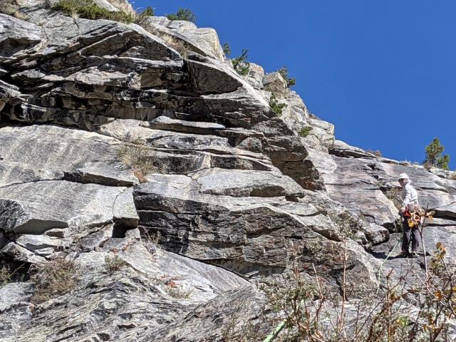 Via Alpinista, Rock Climbing Route in Ophir